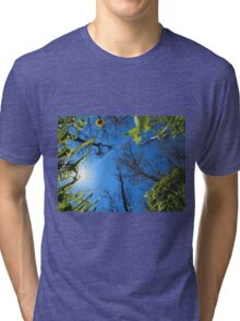 Spring sky - view from below Tri-blend T-Shirt