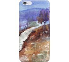 See how the grass grows in silence iPhone Case/Skin