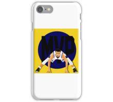 Steph Curry MVP iPhone Case/Skin