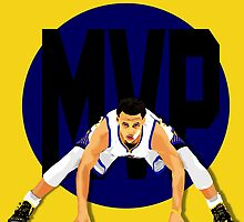 Steph Curry MVP by mikehanz
