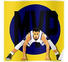 Steph Curry MVP Poster