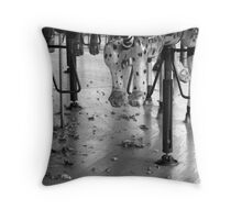 Childhood Memories-Memphis Zoo Carousel Throw Pillow