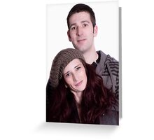 Young And In Love Greeting Card