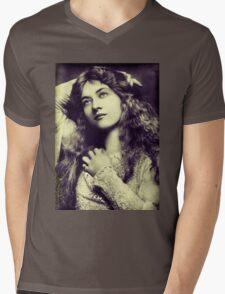 Silent Movie Mens V-Neck T-Shirt