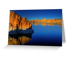 Watson Lake Wide Greeting Card