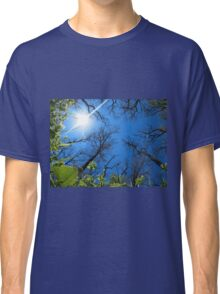 Spring sky - view from below  Classic T-Shirt