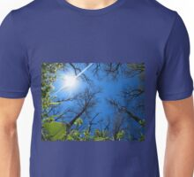 Spring sky - view from below  Unisex T-Shirt
