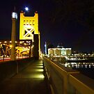 Sacramento CA at night 2 by flyfish70