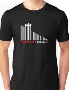Boycott Israel NEG (wall version) Unisex T-Shirt