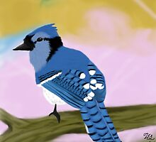 Blue Jay by Thesilentone
