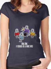 Lock Stars 2 Women's Fitted Scoop T-Shirt