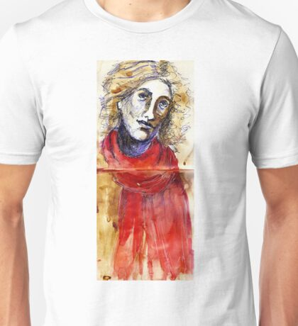 Red Scarf Unisex T-Shirt