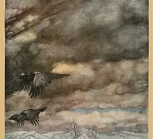 Siegfried & The Twilight of the Gods by Richard Wagner art Arthur Rackham 1911 0221 The Raves of Wotan by wetdryvac