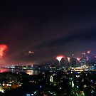 Sydney on New Year's eve IV by Sundar Singh
