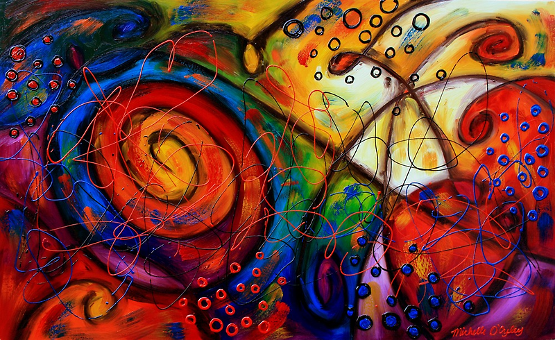 Another Tangled Mess by Abstract D'Oyley
