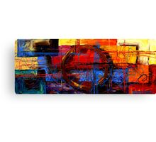 Connective Cycle Canvas Print