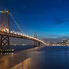 San Francisco Skyline at Dusk by MattGranz