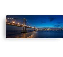 San Francisco Skyline at Dusk Canvas Print
