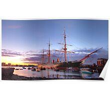 HMS Warrior 1860 Poster