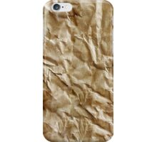 Paper texture iPhone Case/Skin