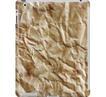 Paper texture iPad Case/Skin