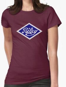 Classic Car Logos - Riley Womens Fitted T-Shirt