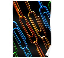 Paperclips Chains Poster