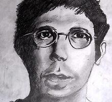 Portrait Study 42. by Richard  Tuvey
