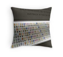 Medals of Honor Throw Pillow