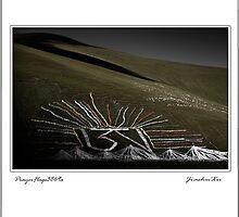 2009 Prayer Flags Series 33 by jiashu xu