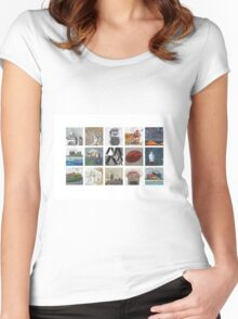 Melbourne 2 Women's Fitted Scoop T-Shirt