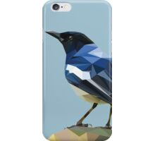 Blocky Blue Bird iPhone Case/Skin