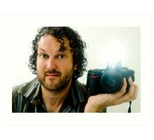 Self-Portrait - Me.... the photographer Art Print