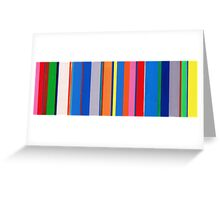 Stripes Greeting Card