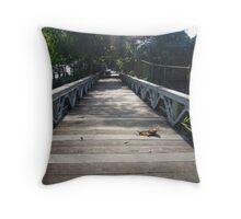 Ubud bridge  Throw Pillow