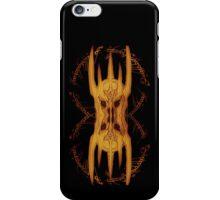 Sauron Mirror Flame iPhone Case/Skin