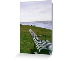 Seaside Seat Greeting Card