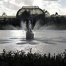 beautiful fountain, Kew Gardens by Kerina Strevens