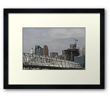South of Cincinnati Framed Print