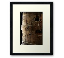 Tagged in history Framed Print