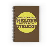 Dyslexia melons Spiral Notebook