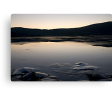 Iced Sea Scape Canvas Print