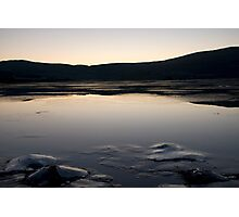Iced Sea Scape Photographic Print