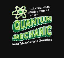 Geeky Comic Book Style Quantum Mechanics Theory Unisex T-Shirt