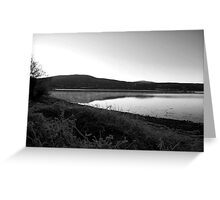 Misting Sea Scape Greeting Card