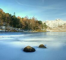 Blea Tarn In Winter by Jamie  Green
