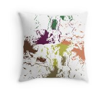 Wilted Paint Throw Pillow