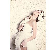 Le Lapin Blanc Photographic Print