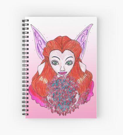 Garden Talent Fairy Spiral Notebook