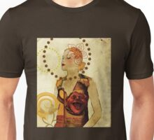 Lady Voila and Black Ribbon on a Tee Unisex T-Shirt